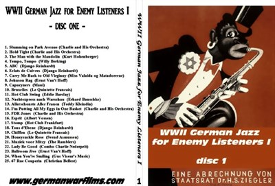 Picture of 2 CD SET:  WWII GERMAN JAZZ FOR ENEMY LISTENERS (PART 1)