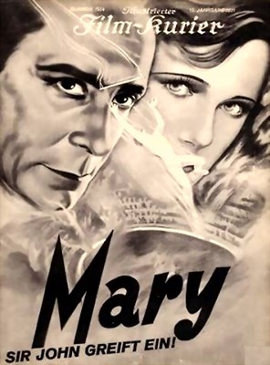 Bild von MORD – SIR JOHN GREIFT EIN (Mary) (1931)  * with Iimproved video and switchable English subtitles *