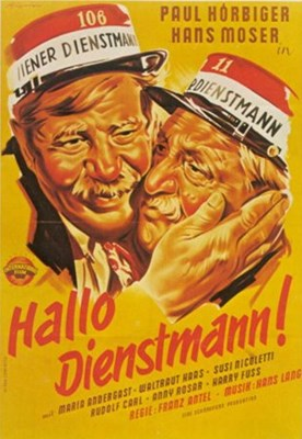 Picture of HALLO DIENSTMANN  (1952)