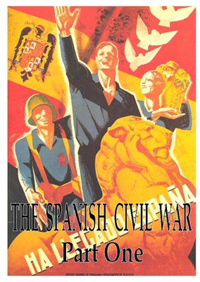 Picture of 2 DVD SET:  THE SPANISH CIVIL WAR (1936 - 1939)