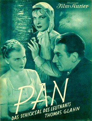 Bild von PAN.  DAS SCHICKSALS DES LEUTNANTS THOMAS GLAHN  (1937)  * with hard-encoded Czech subtitles *