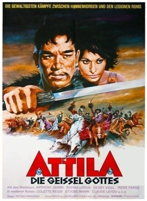 Bild von ATTILA, THE SCOURGE OF GOD  (1954)  * with German audio and switchable English subtitles *