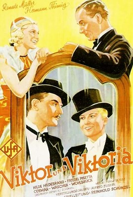 Picture of VIKTOR UND VIKTORIA  (1933)  * with switchable English subtitles *