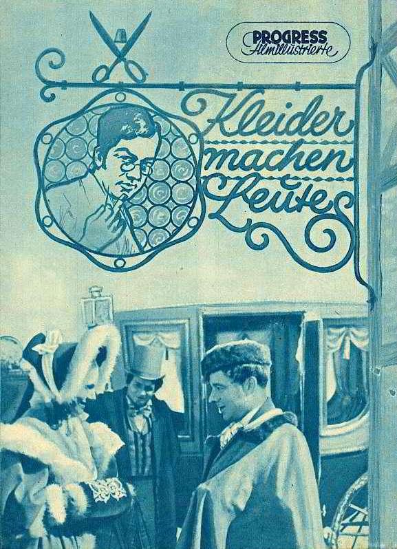 RAREFILMSANDMORE.COM. WWII GERMAN DVD: KLEIDER MACHEN LEUTE (1940)