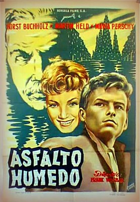 Bild von NASSER ASPHALT  (1958)  * with switchable English subtitles *