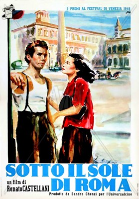 Bild von SOTTO IL SOLE DI ROMA  (1948)  * with switchable English and Spanish subtitles *