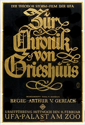 Bild von ZUR CHRONIK VON GRIESHUUS  (1925)  * with English intertitles *