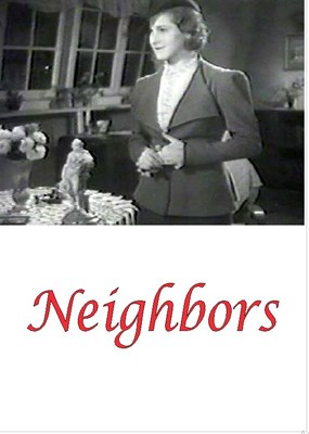 Picture of NEIGHBORS  (1938)  * with hard-encoded English subtitles *