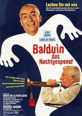 Picture of BALDUIN DAS NACHTGESPENST  (1968)  * with switchable English subtitles *