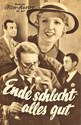 Picture of ENDE SCHLECHT, ALLES GUT  (1934)