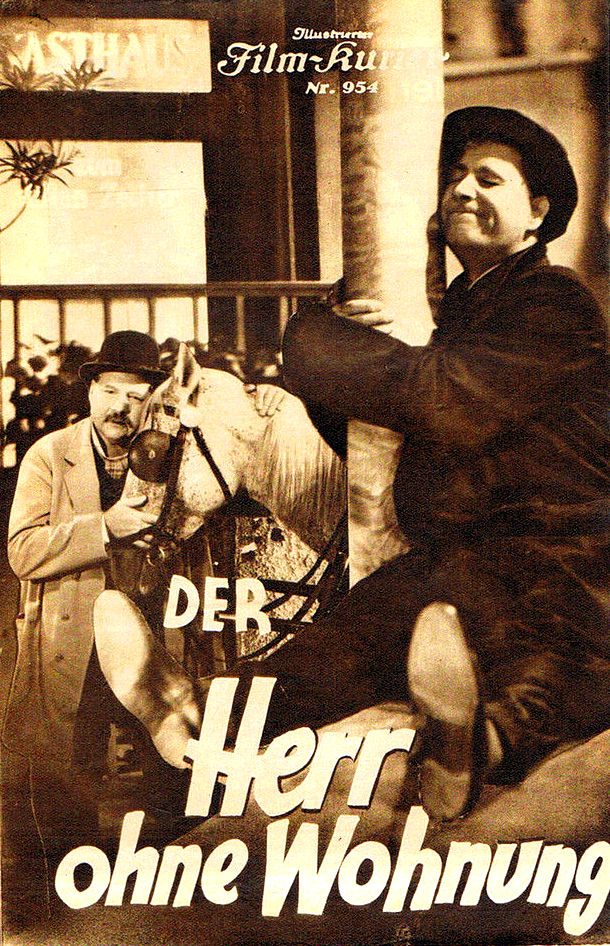 RAREFILMSANDMORE.COM. DER HERR OHNE WOHNUNG (1934)