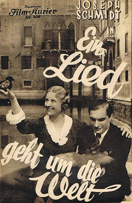Picture of EIN LIED GEHT UM DIE WELT  (1933)  * with improved picture and switchable English subtitles *