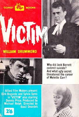 Picture of VICTIM  (1961)  * with switchable Spanish subtitles *
