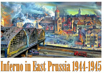 Picture of 2 DVD SET:   INFERNO IN EAST PRUSSIA, 1944 - 1945  * with switchable English subtitles *