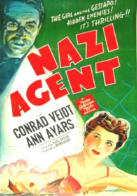 Picture of NAZI AGENT  (1942) + THE MAN WHO NEVER WAS  (1956)