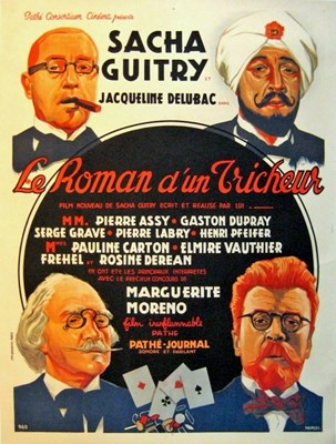 Picture of LE ROMAN D'UN TRICHEUR (Confessions of a Cheat) (1936)  * with switchable English subtitles *