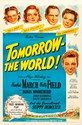 Bild von TOMORROW THE WORLD  (1944)