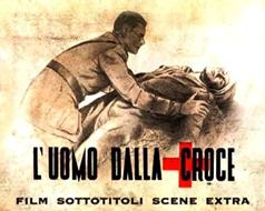 "Photo: L'UOMO DALLA CROCE  (The Man with the Cross)  (1943)  * with switchable English subtitles *Ucraina, fronte russo, estate del 1942: un reparto di carri armati del C.S.I.R. di ritorno da una azione di guerra, riceve l'ordine di spostare altrove il proprio campo base per favorire una manovra bellica. Uomini e mezzi si spostano secondo il piano stabilito, tranne il cappellano militare del reparto che rimane ad assistere un carrista ferito non trasportabile.  Catturato dai russi riesce a fuggire e trova rifugio insieme al ferito in un casolare, dove ha modo di esplicare il suo apostolato tra donne e bambini che vi si sono rifugiati.The Russian Front in the Ukraine in the Summer of 1942.  A unit of Italian tanks returning from battle receives an order to relocate their base to support an offensive action.  The men and machines move according to plan, except for the unit's chaplain, who remains behind to care for a wounded tank gunner, who can't be moved because of his serious injuries.  Captured by the Soviets, he manages to escape and find refuge in a cottage, where he's able to spread the word of God among Russian refugees.  Dedicated to all those chaplains, ""who died bringing God to a land without God"", the movie is incredibly almost anti-War and compassionate in its treatment of the enemy.  That this film was able to get past fascist censors speaks a great deal about Italian Fascism versus that of their so-called German allies.  By the end of the year this film was put out, Italy surrendered."