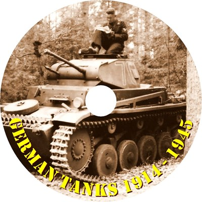 Picture of GERMAN TANKS 1914 - 1945  (2018)  * German / English audio tracks *