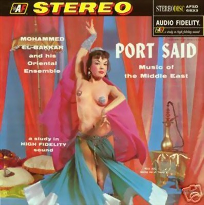 Picture of CD: PORT SAID - MUSIC OF THE MIDDLE EAST (Mohammed el-Bakkar)