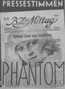 Bild von PHANTOM  (1922)  * with English intertitles *