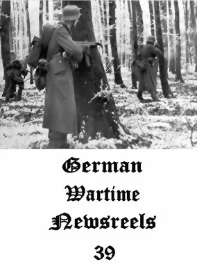 Picture of GERMAN WARTIME NEWSREELS 39  * with switchable English subtitles *  (IMPROVED)