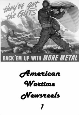 Picture of AMERICAN WARTIME NEWSREELS 01  (1941-42)