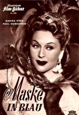 Picture of MASKE IN BLAU FILM PROGRAM  (1953)