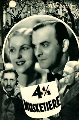 Picture of VIEREINHALB MUSKETIERE  (1935)  * with hard-encoded Dutch subtitles *