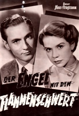 Picture of DER ENGEL MIT DEM FLAMMENSCHWERT FILM PROGRAM  (1954)
