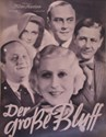 Picture of DER GROSSE BLUFF  (1933)  +  DAS QUARTETT  (1937)