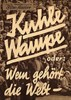 Bild von KÜHLE WAMPE  (1932)  *with switchable English subtitles*