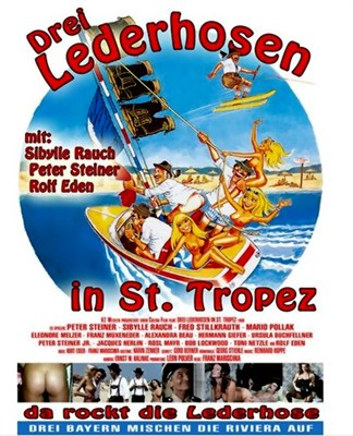 Picture of DREI LEDERHOSEN IN ST. TROPEZ  (1980)