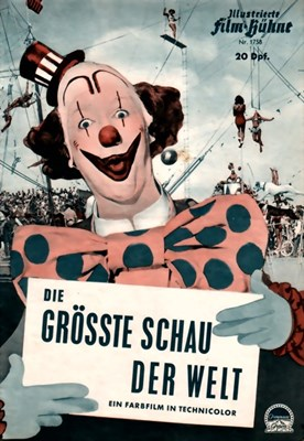 Bild von DIE GROSSTE SCHAU DER WELT FILM PROGRAM  (The Greatest Show on Earth)  (1952)