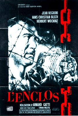 Picture of THE ENCLOSURE  (L ENCLOS)  (1961)  * with switchable English subtitles*