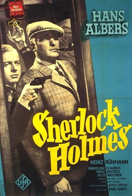 Picture of DER MANN, DER SHERLOCK HOLMES WAR  (1937)  *with switchable English subtitles*
