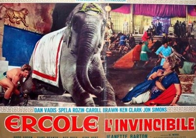Picture of HERCULES THE INVINCIBLE  (1964)  +  THE ADVENTURES OF PRINCE AHMED  (1926)