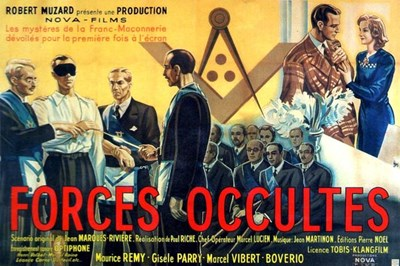 Bild von FORCES OCCULTES  - THE TRUTH BEHIND FREEMASONRY (1943)  * with hard-encoded English subtitles *