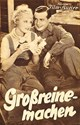 Picture of GROSSREINEMACHEN  (1935)