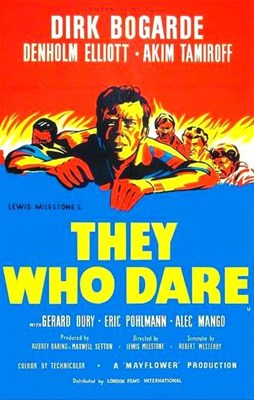 Picture of THEY WHO DARE (1954)  &  THE FORBIDDEN CHRIST  (1951)