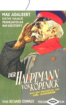 Picture of DER HAUPTMANN VON KÖPENICK  (1931)  * with switchable English subtitles *