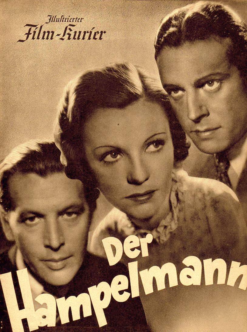 RAREFILMSANDMORE.COM. DER HAMPELMANN (1938)