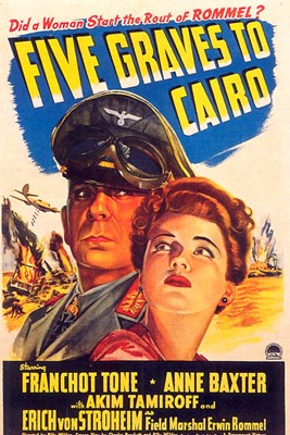 Bild von FIVE GRAVES TO CAIRO  (1943)