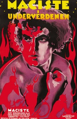 Bild von MACISTE IN HELL  (1926)  * with switchable Spanish subtitles * - IMPROVED VIDEO