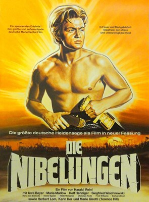 Picture of 2 DVD SET:  DIE NIBELUNGEN – SIEGFRIED & KRIEMHILDS RACHE  (1966/67)   * with switchable English and Spanish subtitles *