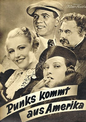 Picture of PUNKS KOMMT AUS AMERIKA  (1935)