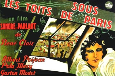 Picture of UNDER THE ROOFS OF PARIS  (1930)  * with switchable English subtitles *