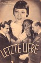 Picture of LETZTE LIEBE  (1935)