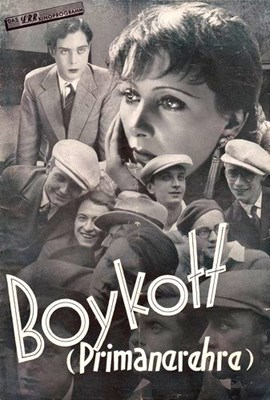Picture of BOYKOTT (Primanerehre) (1930)  * with or without switchable English subtitles; improved video quality *