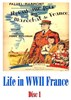 Picture of 2 DVD SET:  LIFE IN WWII FRANCE